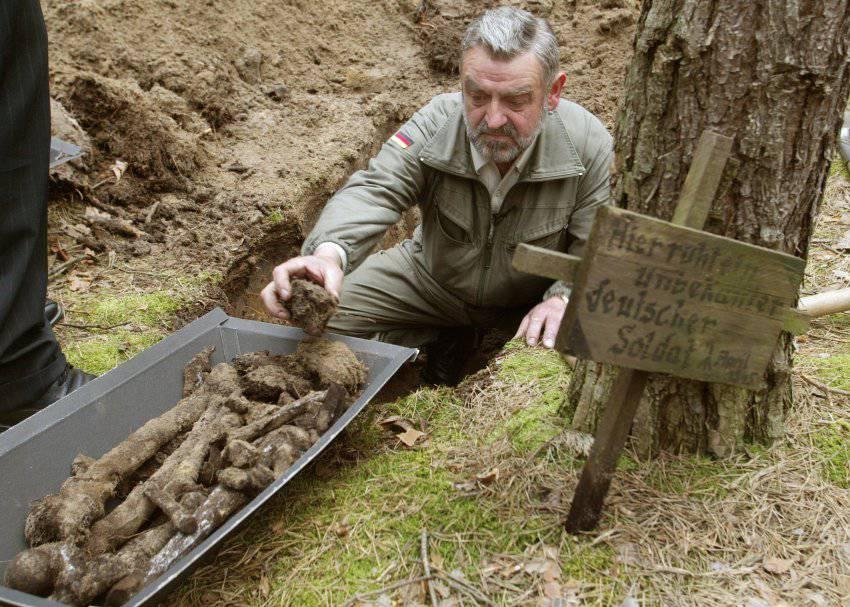 """Как немцы ищут солдат второй мировой войны """" военное обозрен."""