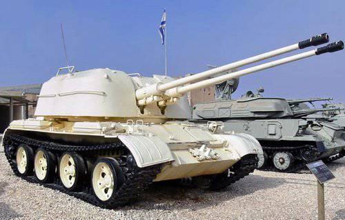 ПВО. ЗСУ на базе танков
