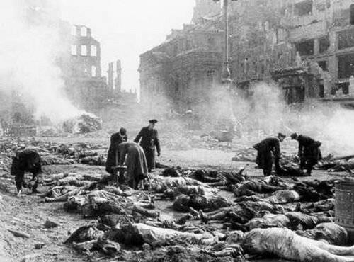 Уничтожение Дрездена, 1945 год