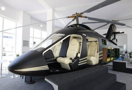 L'hélicoptère innovant créé avec les Ukrainiens pour les Émirats arabes unis a été présenté à Dubaï.