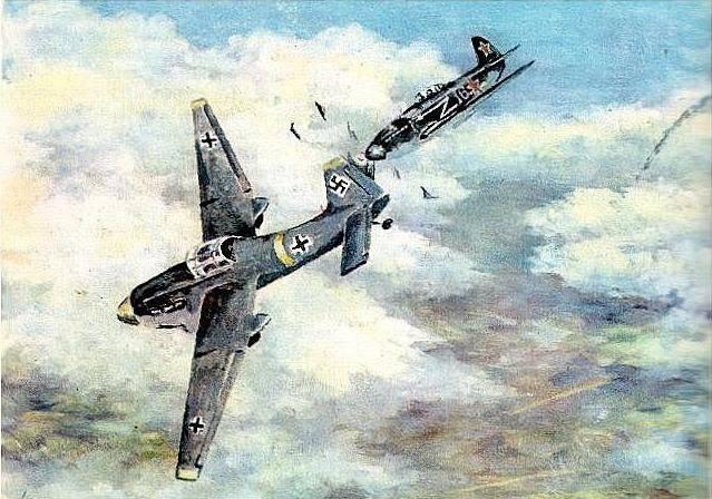 Русский приём воздушного боя, который испугал люфтваффе: тараны