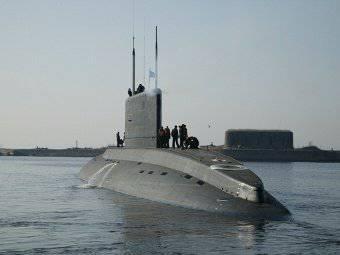 Submarinos da frota do Mar Negro serão construídos nos estaleiros do Almirantado
