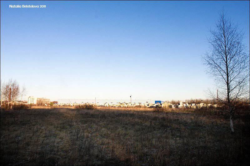 Planta de reparación de aviones 419 cerca de Petersburg