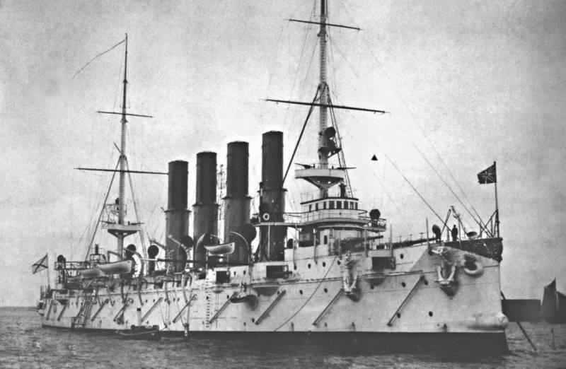 112 лет назад  на воду спущен крейсер «Варяг»