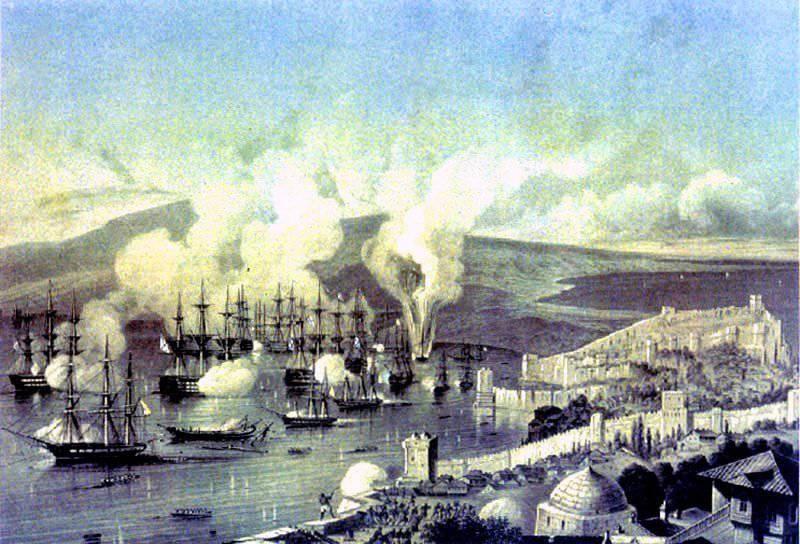 ロシアの軍事栄光の日 - シノプ岬でロシアの戦隊の勝利の日