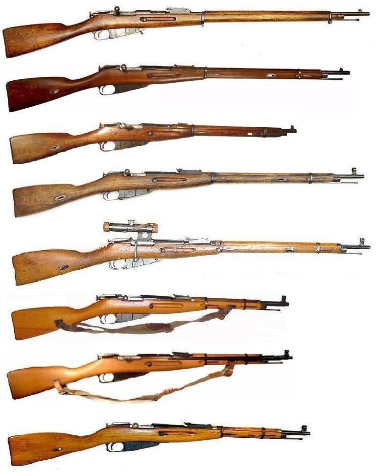 2 개의 세계 대전 중 2 개의 소총