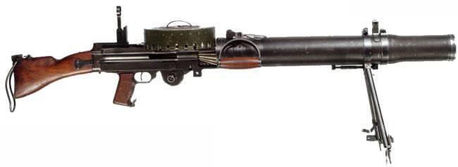 Оружие первой мировой войны - пулемет