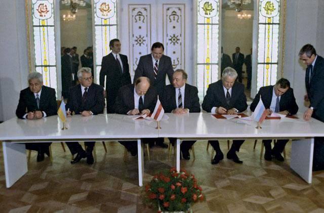 20 yıl önce Belovezhsk anlaşmaları imzalandı