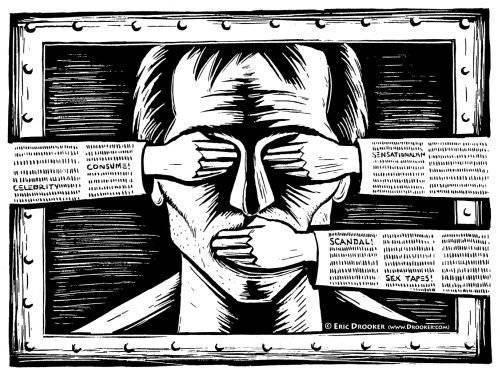 Ждет ли Россию политическая цензура » Военное обозрение
