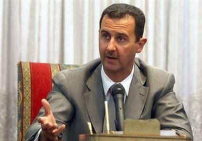 """Асад: """"меня пытаются убрать из-за дружбы с Россией"""""""