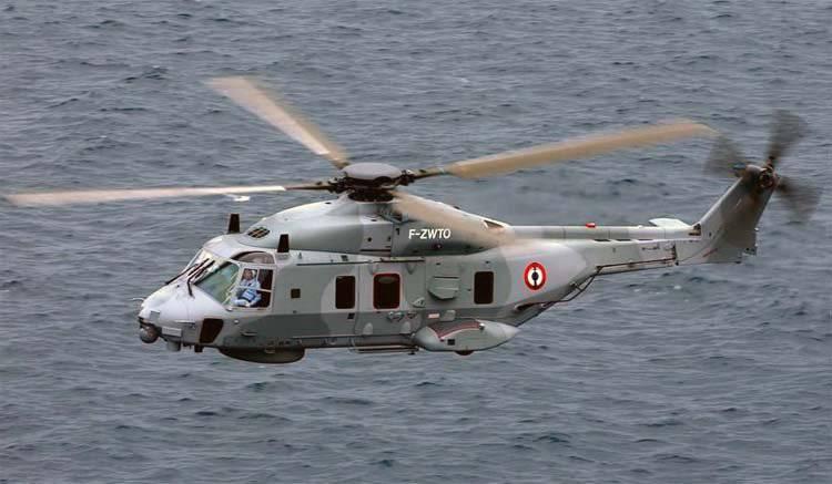 НАТОвский вертолет NH-90