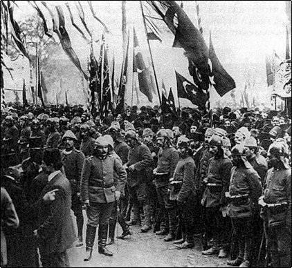 Планы и армии Центральных держав