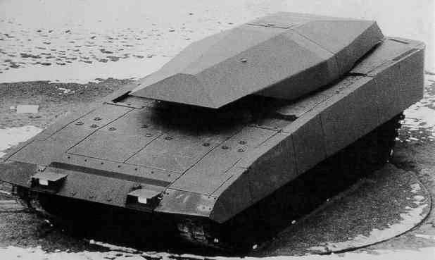 New armored platform NGP (Neue Gepanzerte Plattformen), which is not built