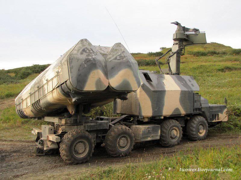 Стрельбы 520-й береговой ракетно-артиллерийской бригады