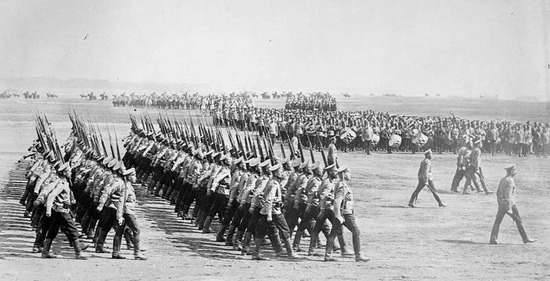 俄罗斯帝国军队和第一次世界大战前夕俄罗斯的战略计划