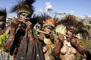 La Papouasie a atteint le printemps arabe