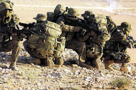Fuerzas especiales beduinas