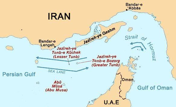 封锁的霍尔木兹海峡,美国不会允许