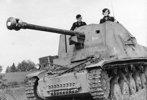 Anti-tanque SAU de Alemania durante la guerra (parte de 2) - familia Marder
