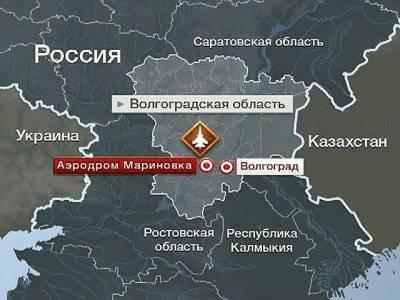 Авария Су-24 под Волгоградом: самолет сгорел