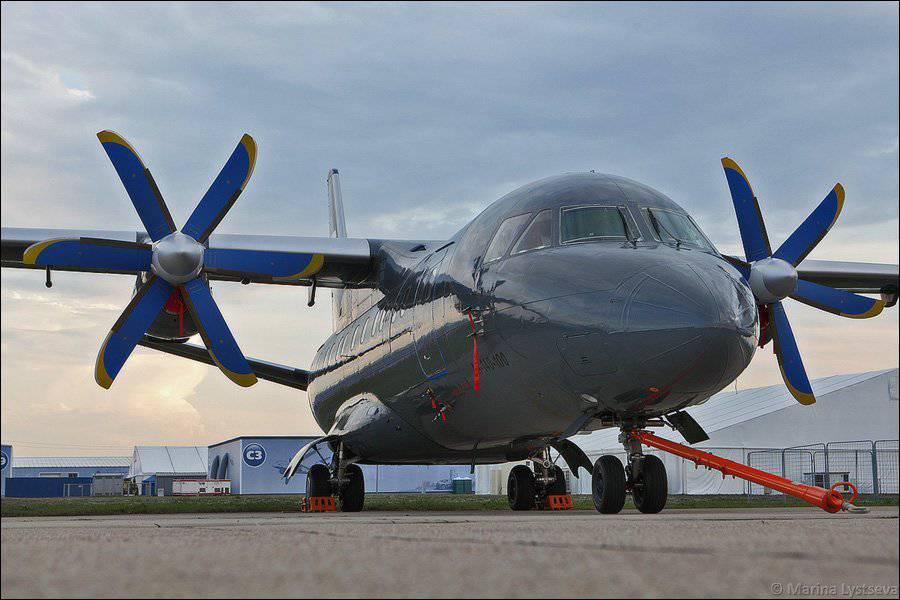 Aviakor a remis au ministère de la Défense de la Russie le deuxième An-140