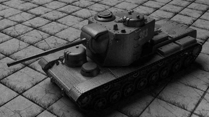 Тяжёлый танк КВ-5 , характеристики и описание