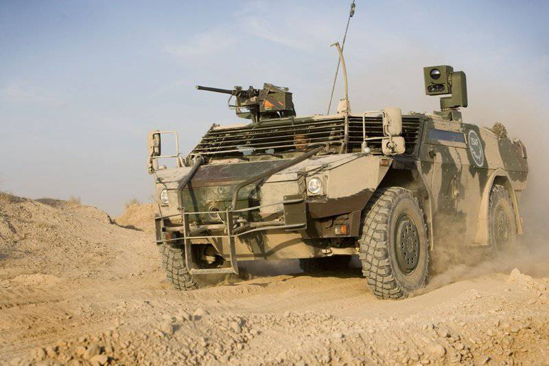 Fast and protected: modern armored cars of foreign countries