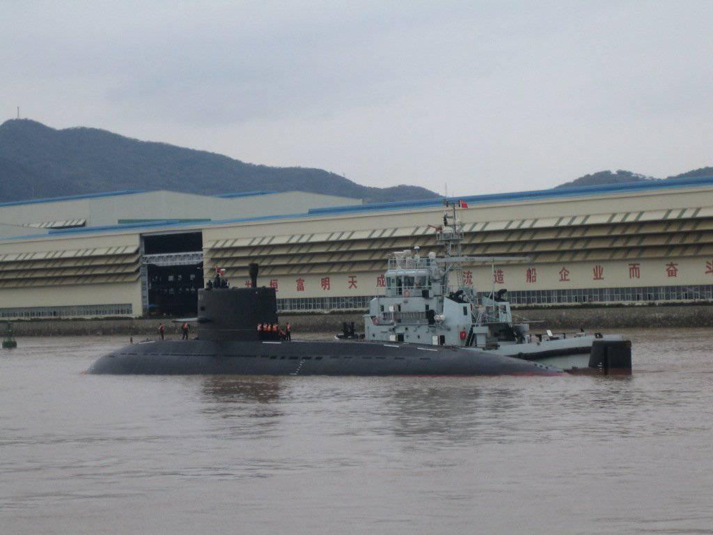 中国からのディーゼル電気競合会社:S20潜水艦