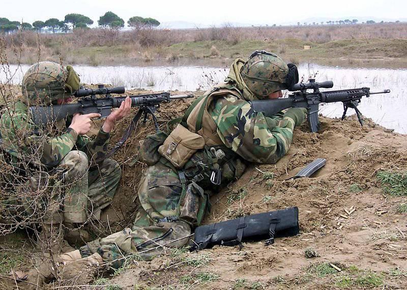 Kalaşnikof tüfeğinin ana rakibi Amerikan M16'i.