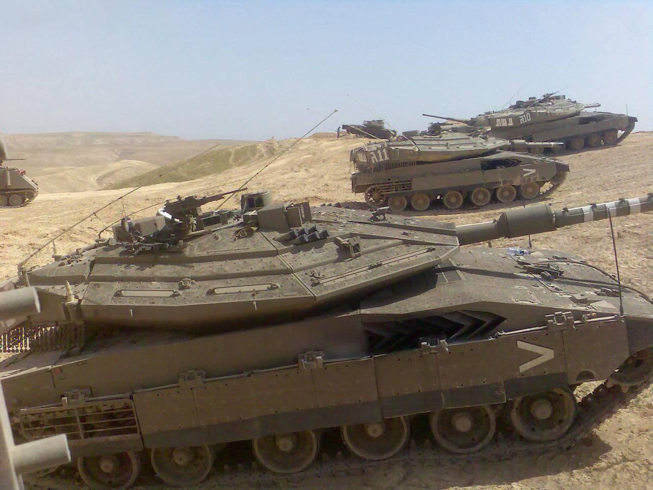Тенденции модернизации танка Merkava Mk-4 ( Израиль)
