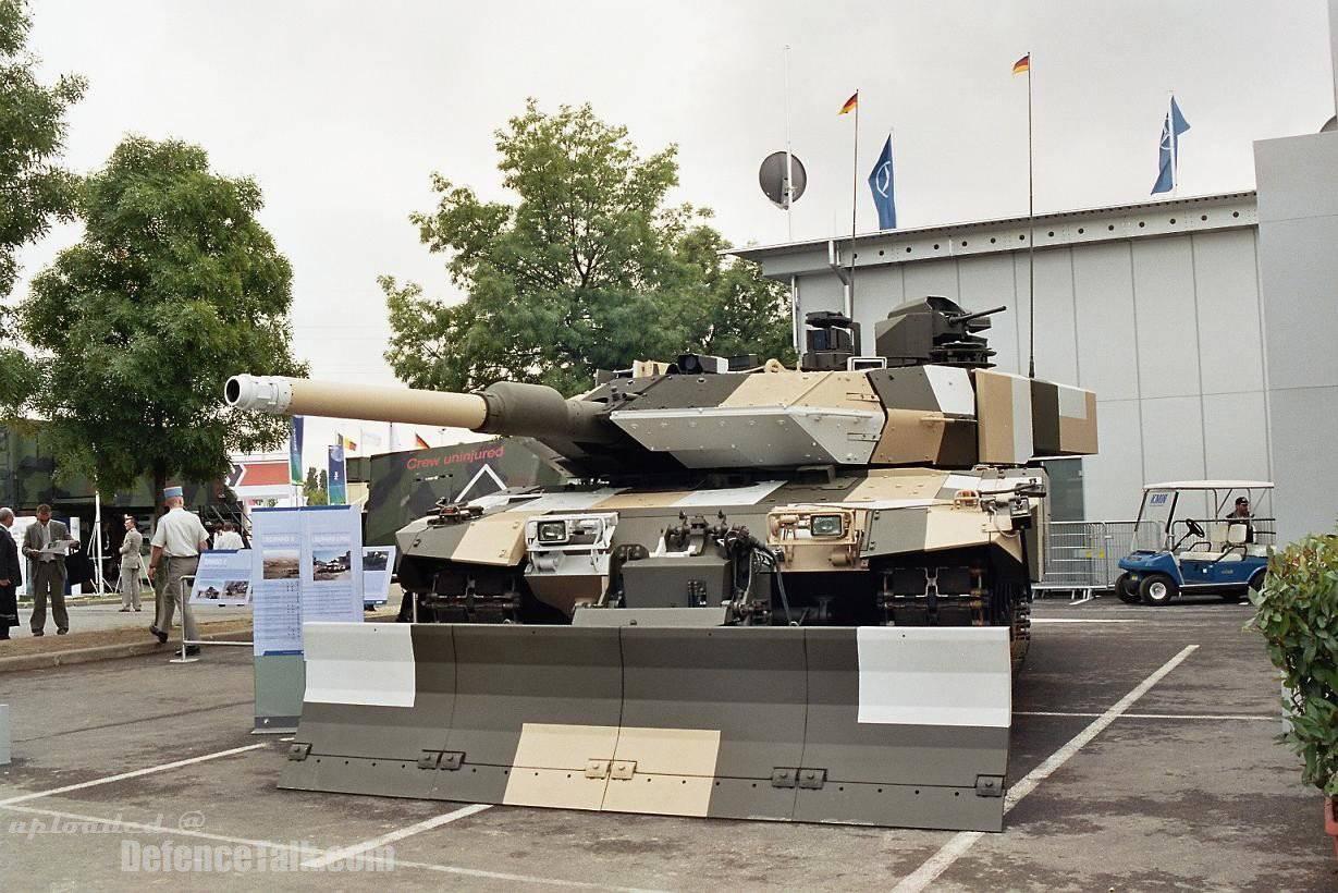 Новые немецкие танки в 2018
