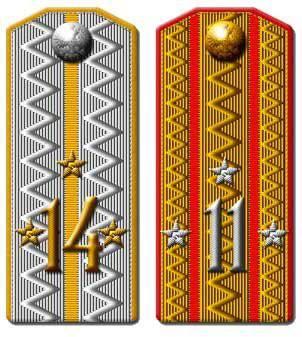 Различия званий русской армии xix xx век