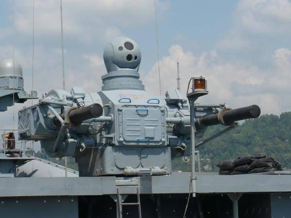 Os complexos de navios de autodefesa russos precisam ser melhorados.