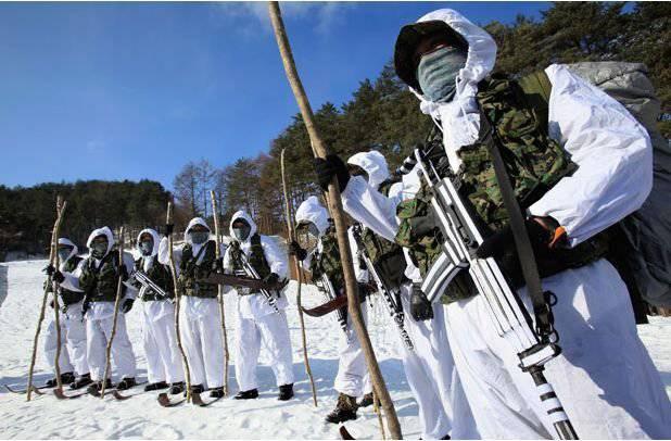 दक्षिण कोरिया के विशेष बल - आदर्श के रास्ते पर
