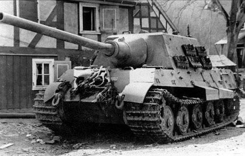 Panzerabwehr SAU Deutschlands während des Krieges (Teil 9) - Jagdtiger