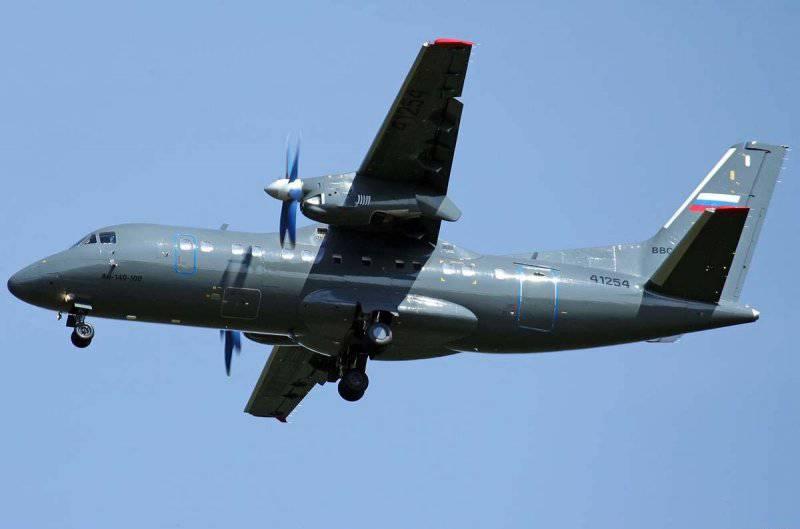 Ан-140-100 – Самолет военно-транспортной авиации России