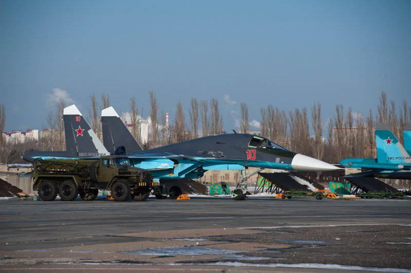 Су-34 б/н 10 (в новой окраске