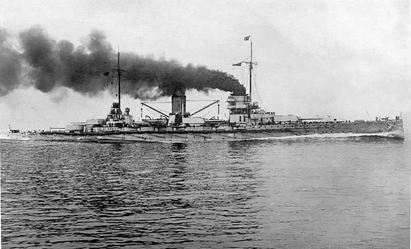 ВМС ведущих держав в начале Первой мировой войны