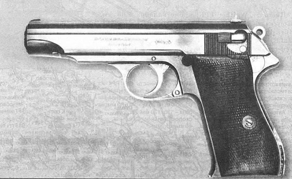9-mm पिस्तौल वाल्थर R.38 (वाल्टर P.38) (PPK)