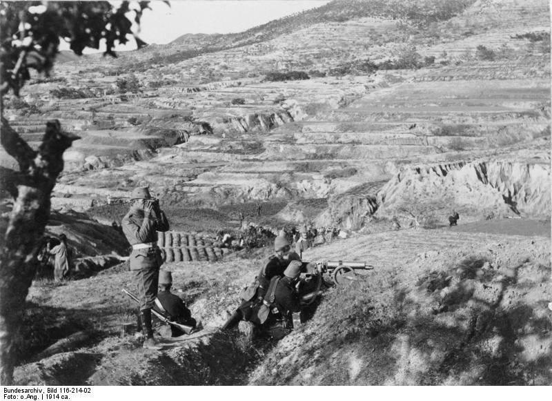 Японская империя и начало Первой мировой войны