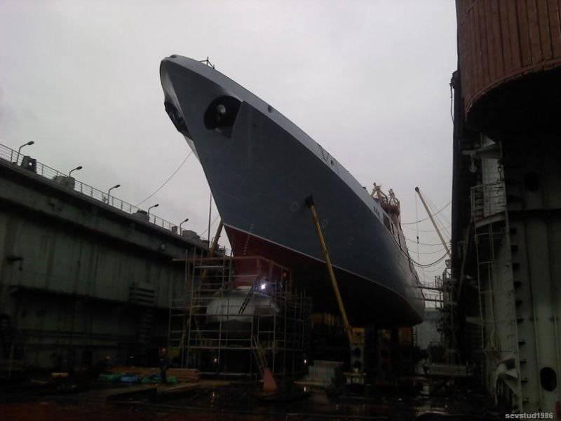 Rus Donanmasının geleceği - yapım aşamasında gemiler