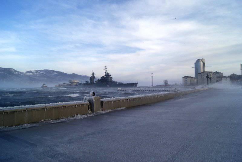 Novorossiysk: the fight against hurricane