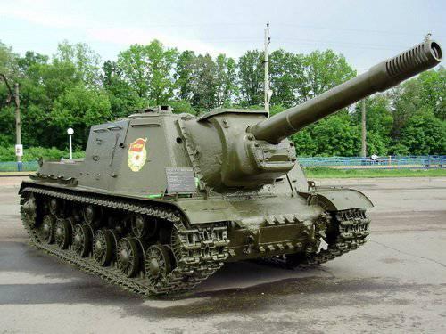 苏联SAU的战争时期(部分6) -  ISU-122 / 152