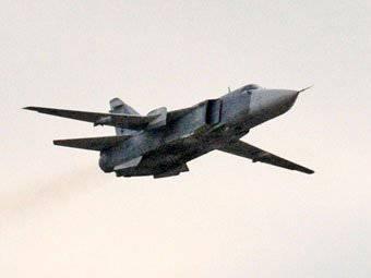 The third Su-24 crashed