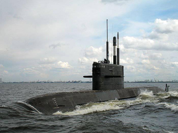 러시아의 비핵 잠수함은 인도 입찰에서 승리 할 수있다.