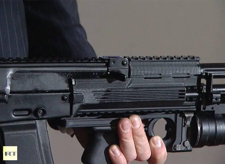 """""""Ижмаш"""" официально представил новый автомат АК-12"""