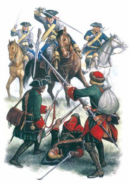 Забытый подвиг русских солдат  - битва при Фрауштадте