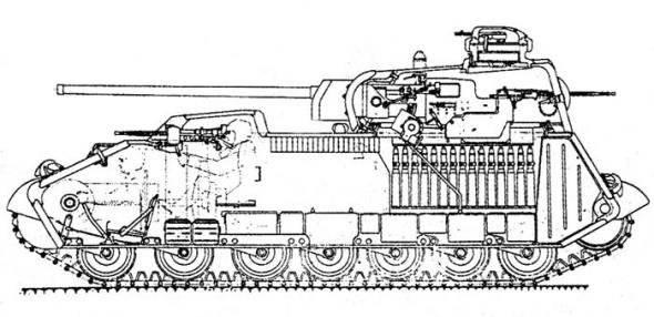 Проект Советского тяжелого танка А-44