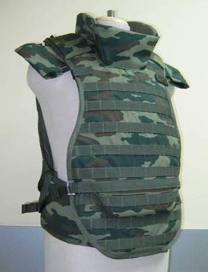 Отечественные армейские бронежилеты