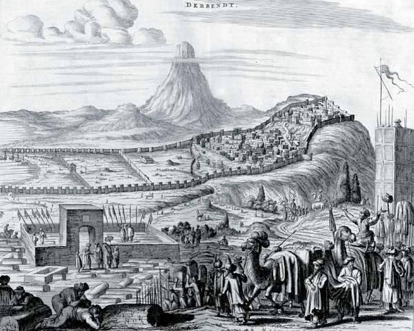 Punizione della Persia non pacifica - Campagna 1796 dell'anno